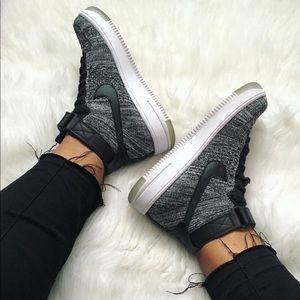 Nike Shoes - Nike | Flyknit Air Force 1 Hi Top